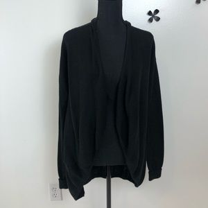 Express black cardigan sweater size small